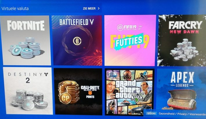 fortnite en andere games microtransactions overzicht in de ps store