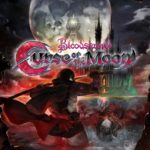 bloodstained curse of the moon packshot logo