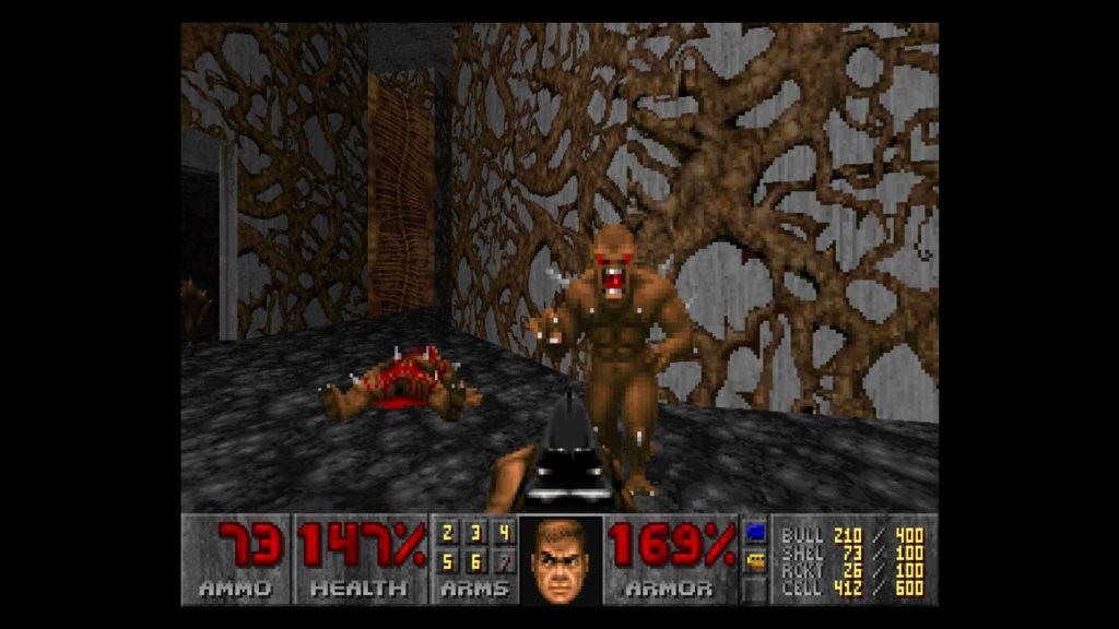 doom screenshot met imp