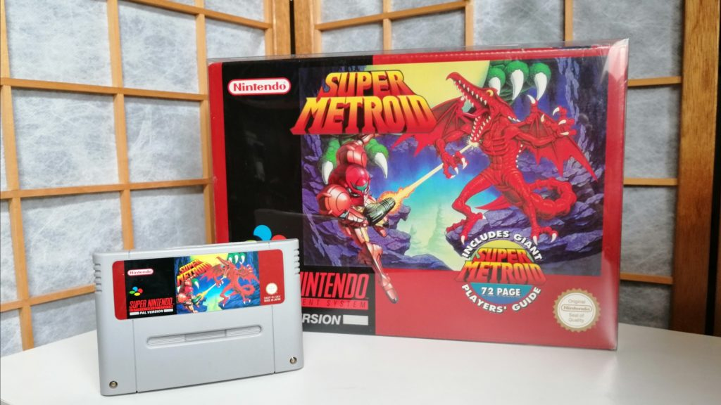super metroid big box snes games kopen foto