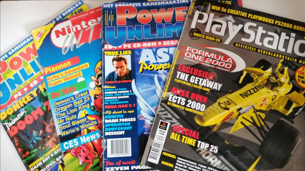gaming tijdschriften power unlimited etc
