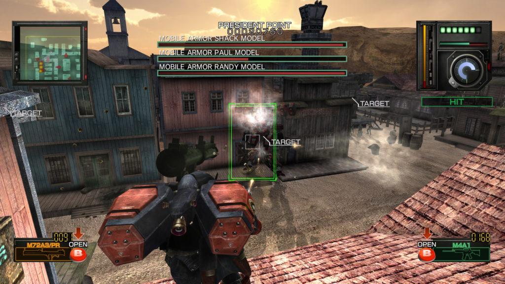 metal wolf chaos duel screenshot
