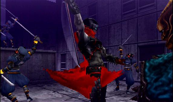 shinobi gameplay beelden ninja
