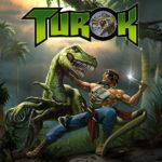 Turok logo front cover packshot