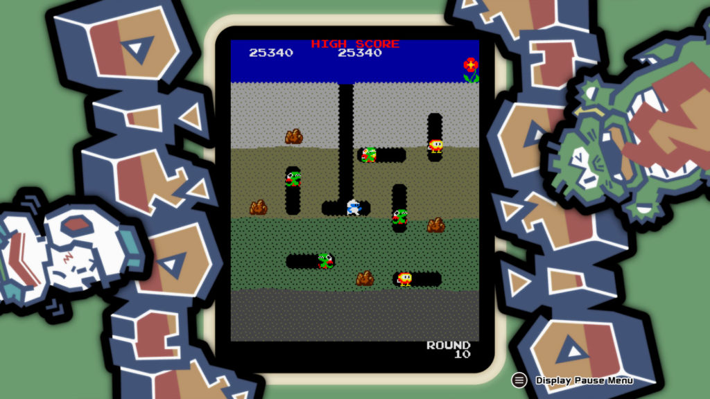 dig dug later level