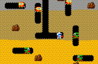 dig dug screenshot inzoom
