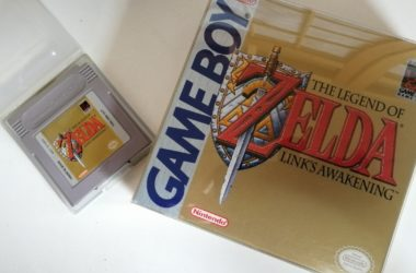zelda links awakening hoesje en cartridge