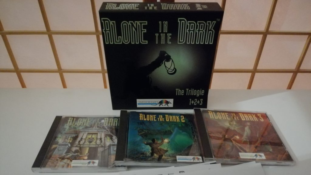 alone in the dark trilogy boxset
