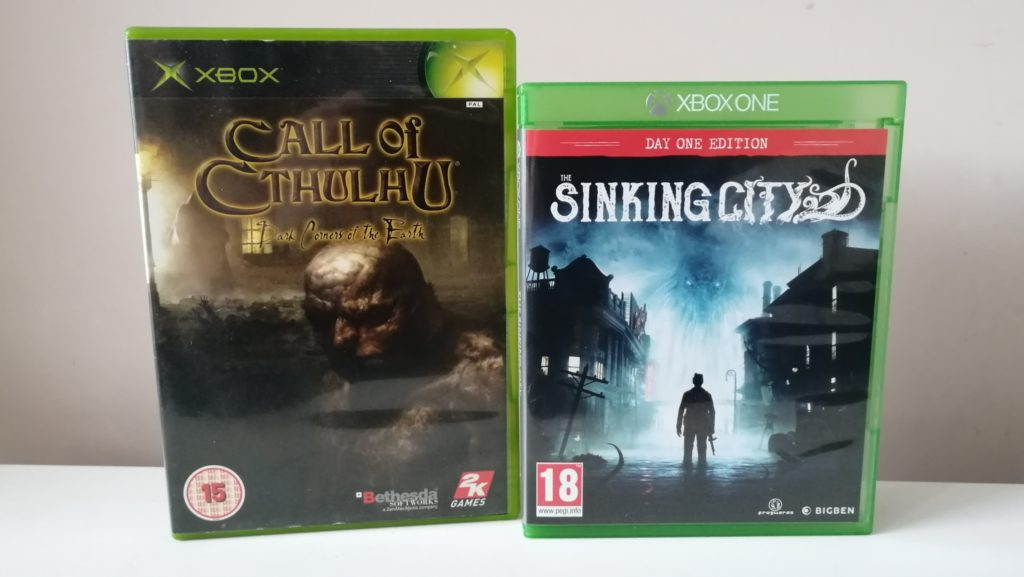 games direct uit de Cthulhu mythos