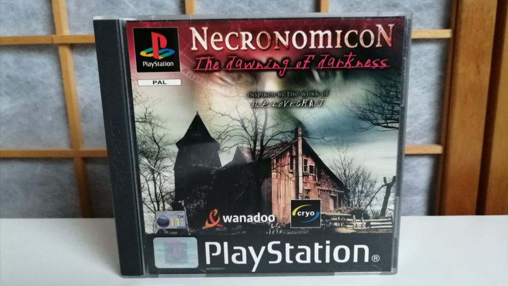 necronomicon lovecraft game ps1