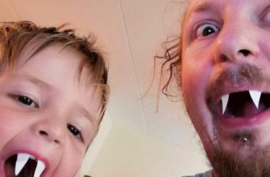griezelende vader en zoon
