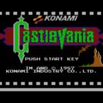 castlevania logo startscherm