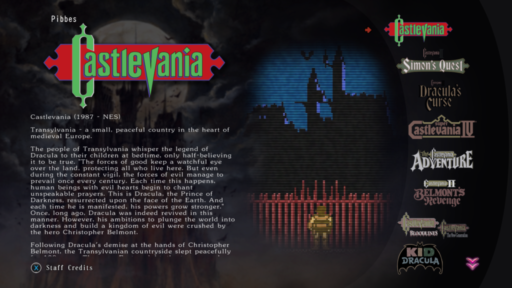 castlevania collection op xbox one