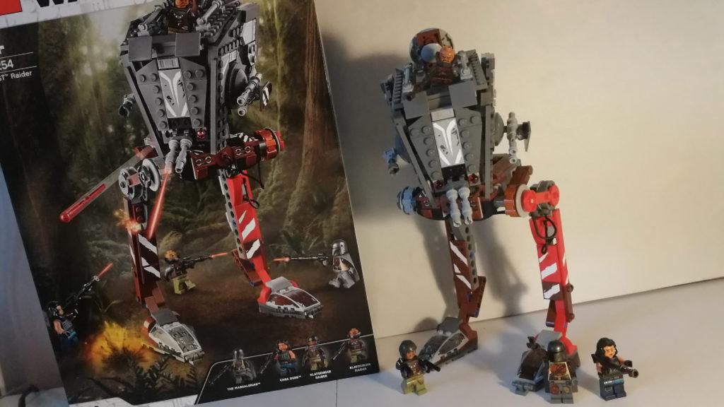 at-st raider lego star wars compleet