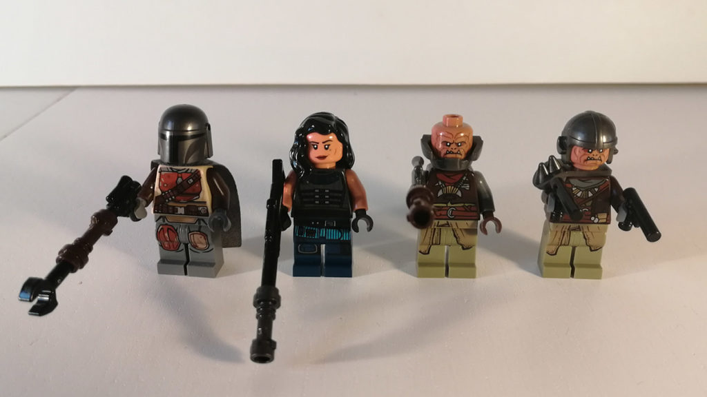 lego minifiguurtjes waaronder the mandalorian