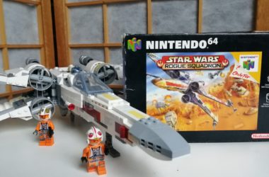 star wars rogue squadron n64 met lego x wing
