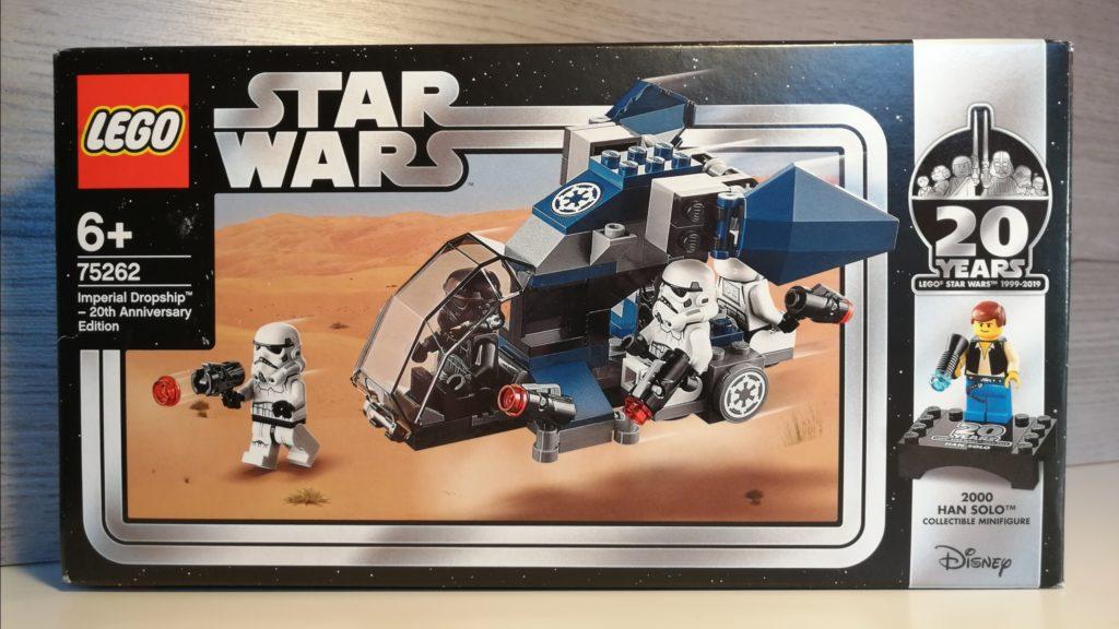 verpakking box van lego seet