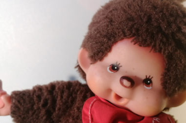 monchhichi vintage pop close up