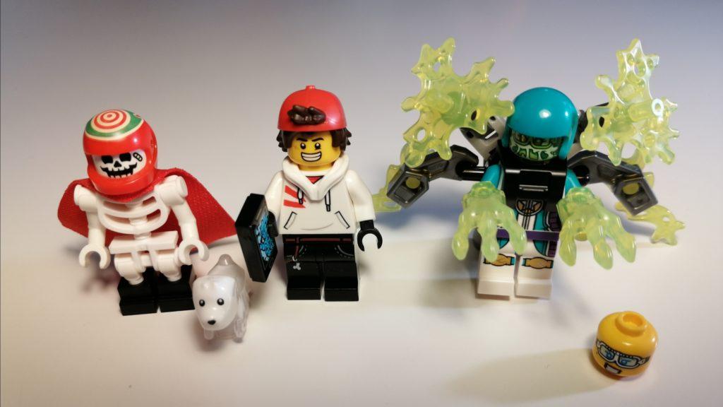de lego minifiguurtjes bij de set