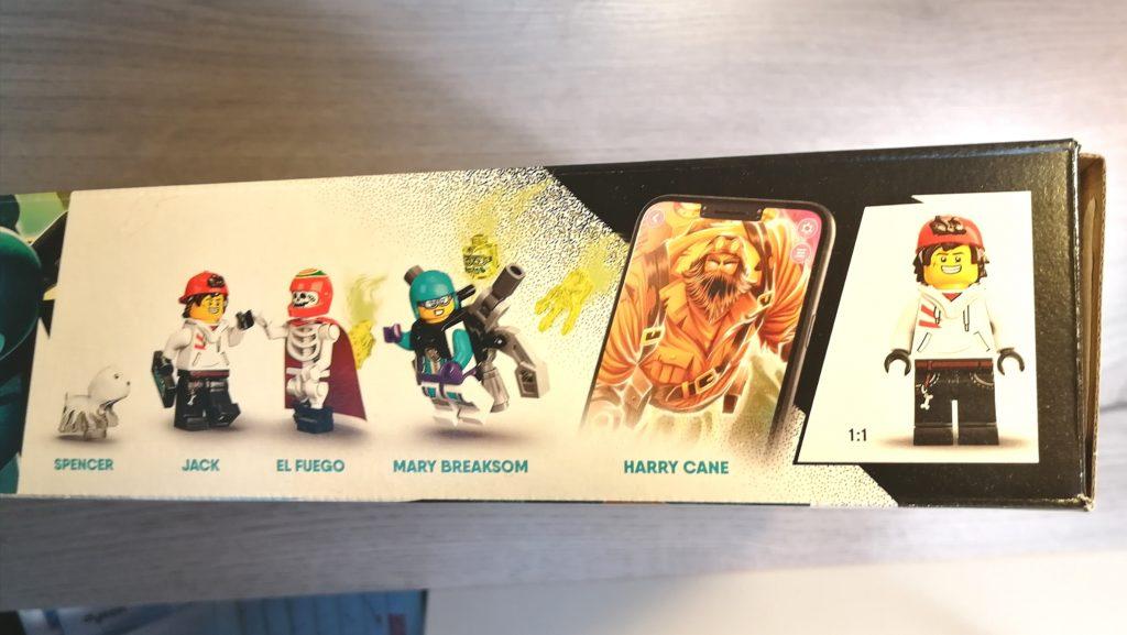 lego box zijkant figuurtjes en geest