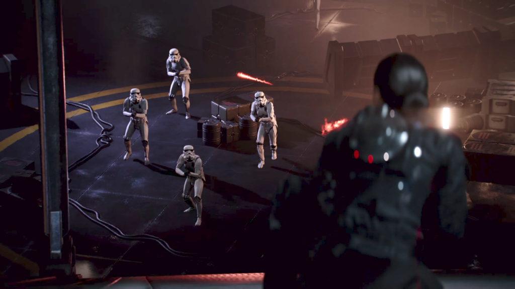 battlefront II iden vs stormtroopers