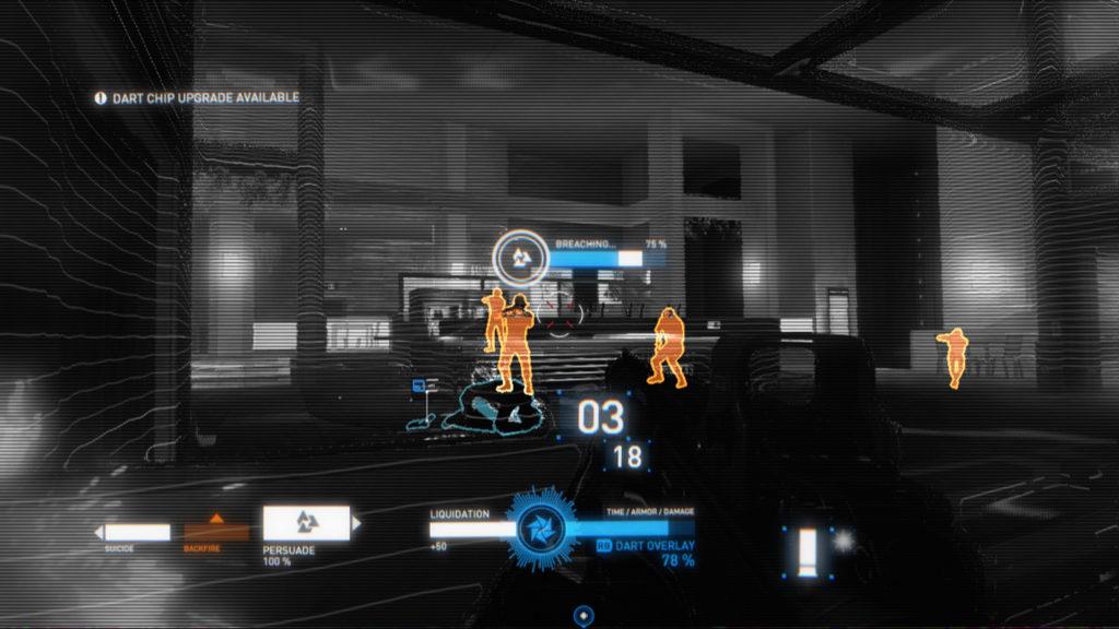 overlay DART chip mode
