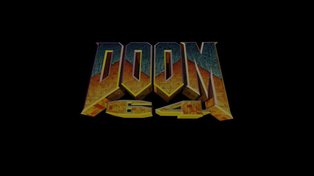 doom 64 logo screenshot