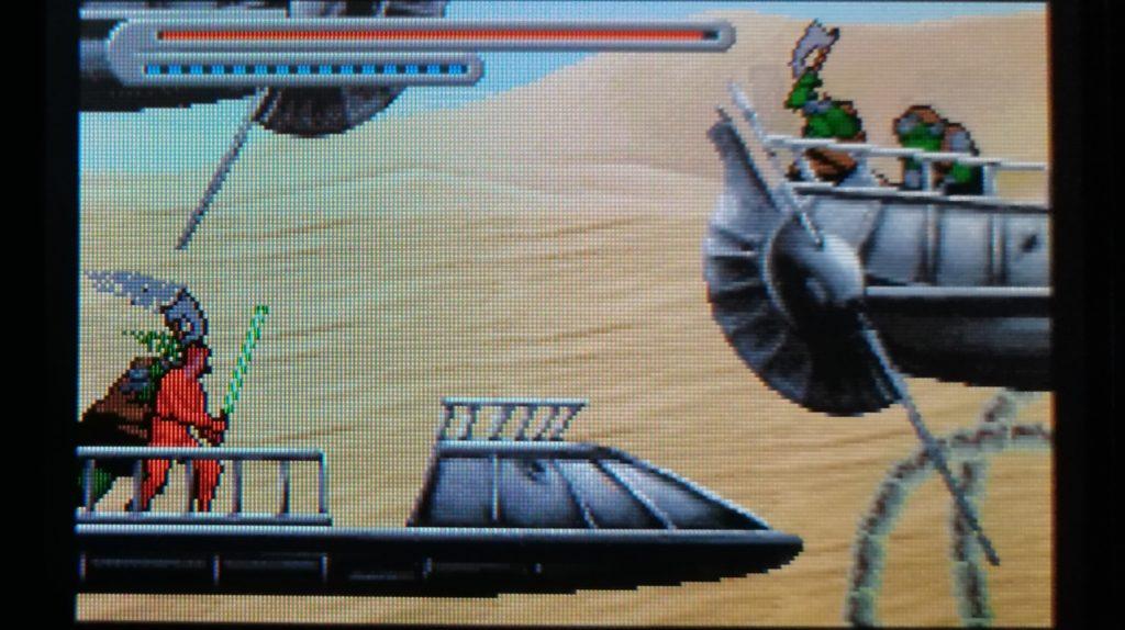desert skiff luke skywalker als jedi met lightsaber