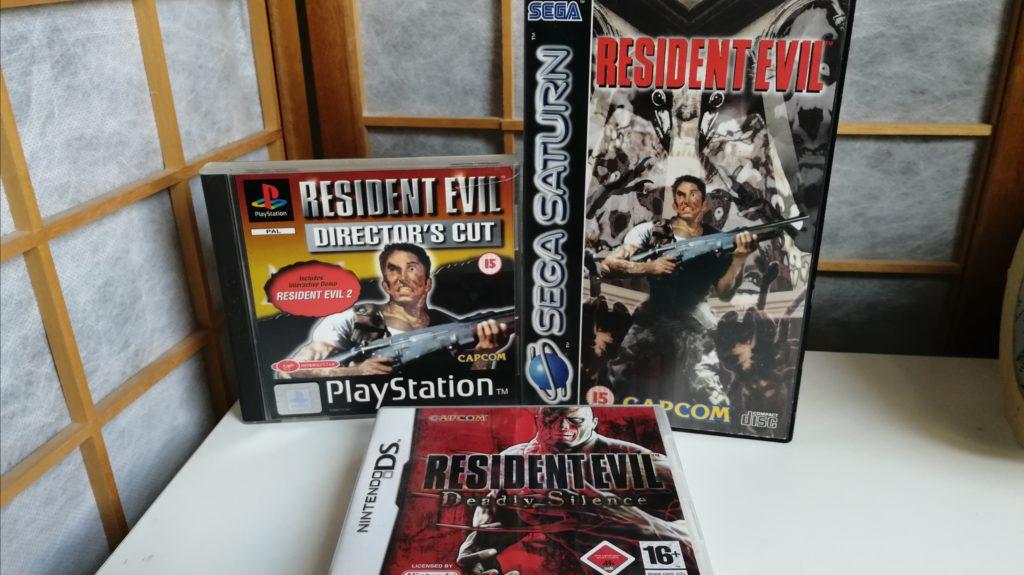 naast remakes heeft Resident Evil ook vele eruitgaves met extra's