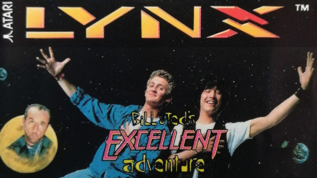 bill & ted's excellent adventure logo