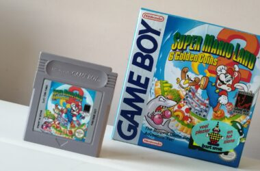 super mario land 2 six golden coins gameboy doosje en cartridge