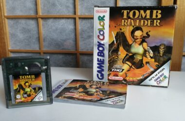 tomb raider gameboy color game doosje en handleiding