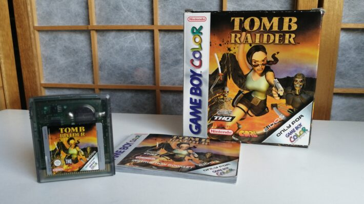 tomb raider gameboy color game doosje en handleiding