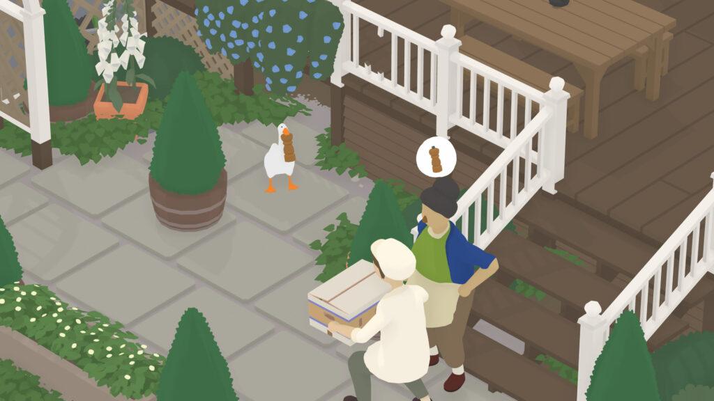 kinderen en games untitled goose game