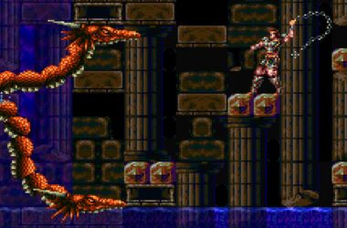 super castlevania iv 4 bossfight draak