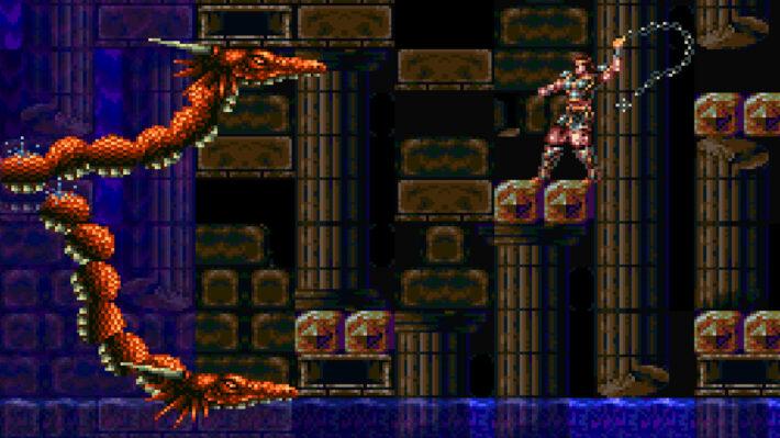 super castlevania iv 4 bossfight draak
