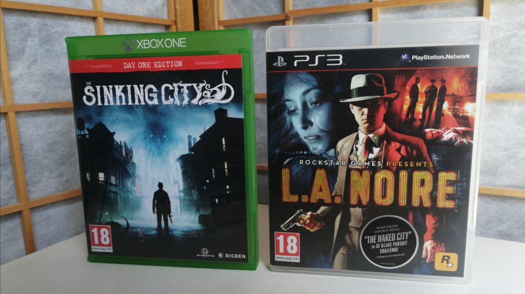 racisme in games foto met the sinking city en L.A. Noire
