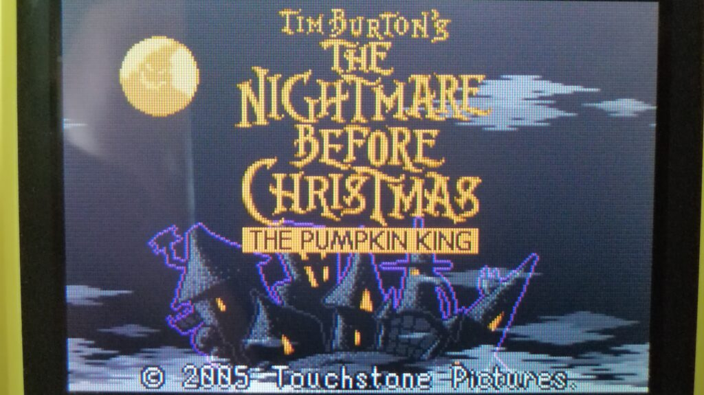 the nightmare before christmas the pumpkin king logo
