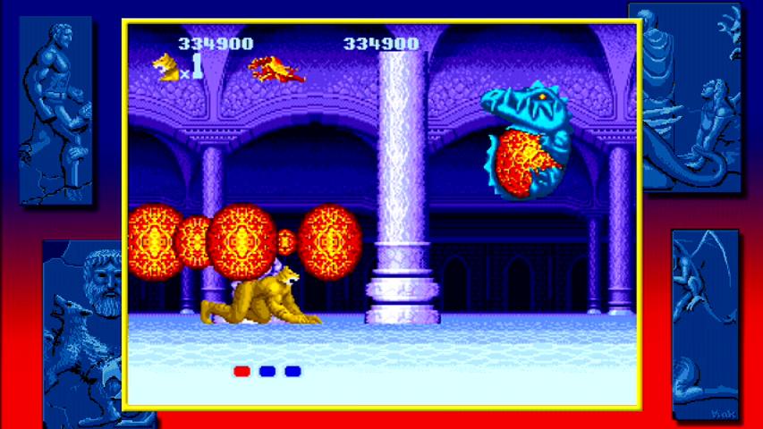 mega drive versie tijger bossfight draak