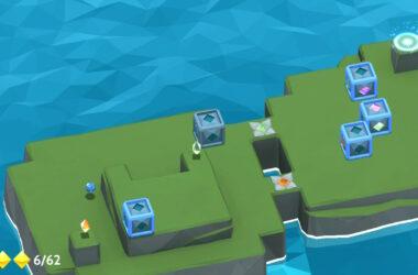 kubus op het eiland met al best moeilijke puzzel