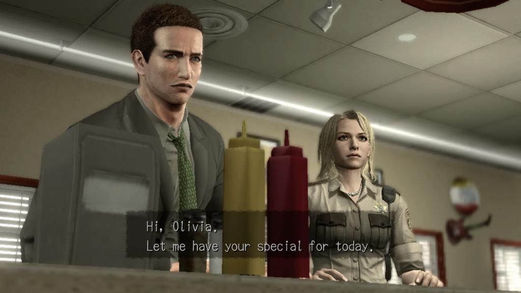 deadly premonition the diner met agent York