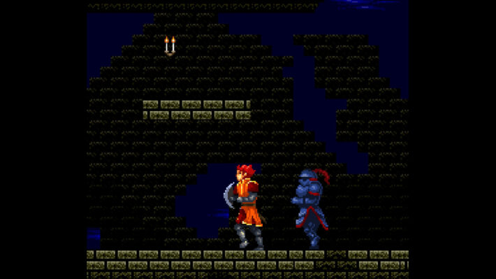 castlevania order of shadows screenshot desmond met vampire killer zweep