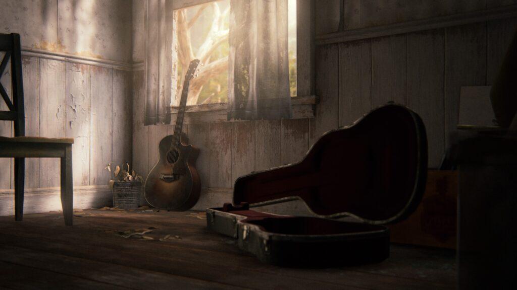 gitaar in the last of us