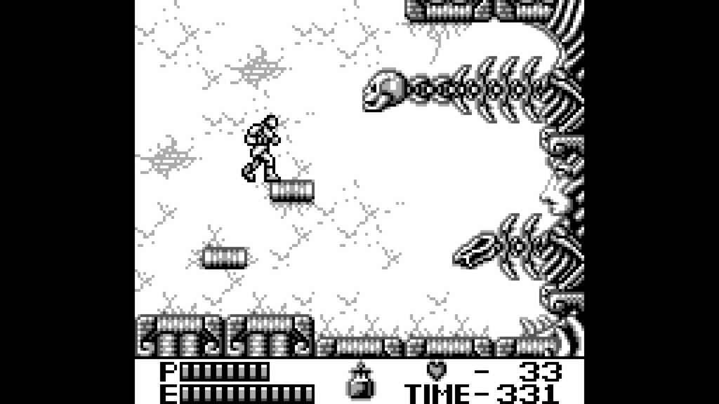 castlevnia 2 gameboy bossfight