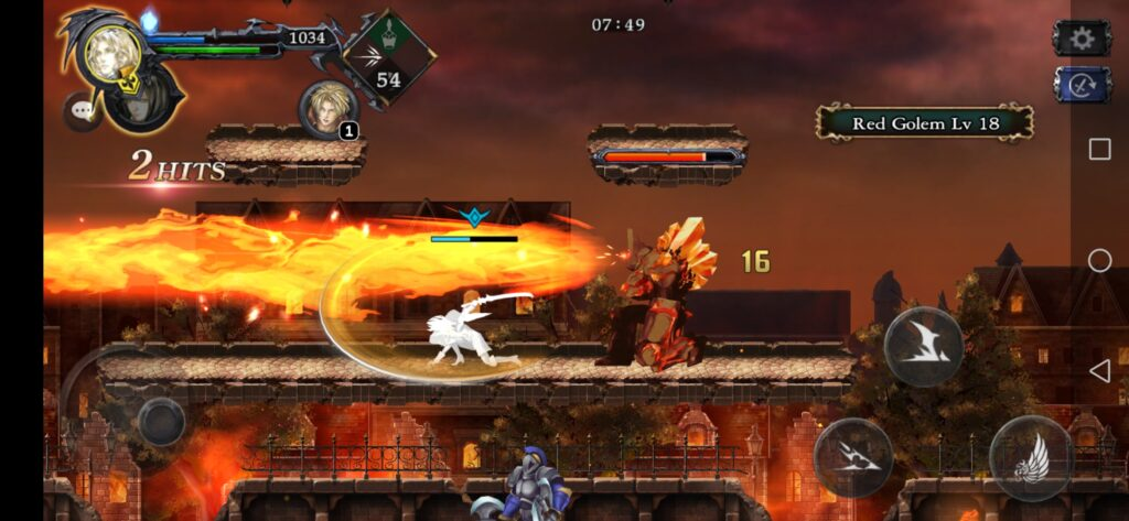 grimoire of souls screenshot fire attack