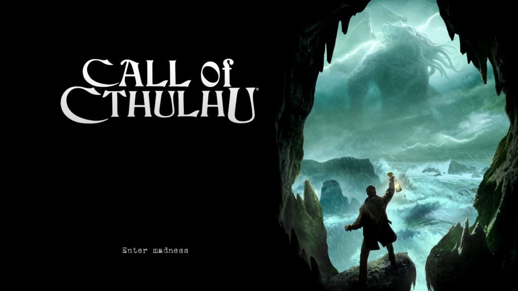 horror games spelen call of cthulhu titelpagina