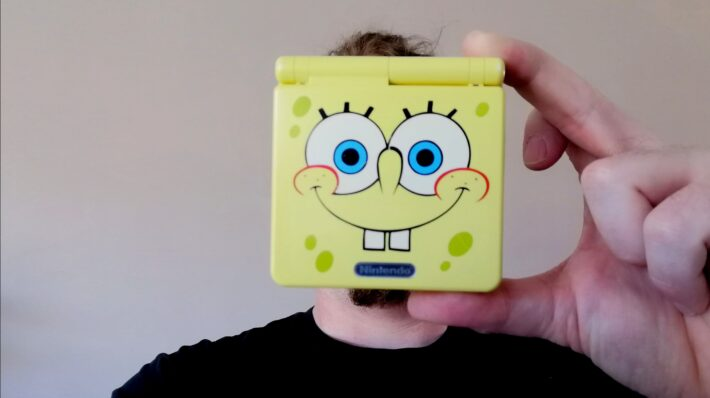 handheld consoles spongebob gameboy advance