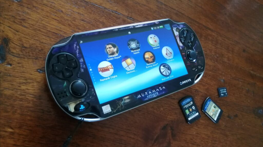 PS Vita Playstation Vita handheld