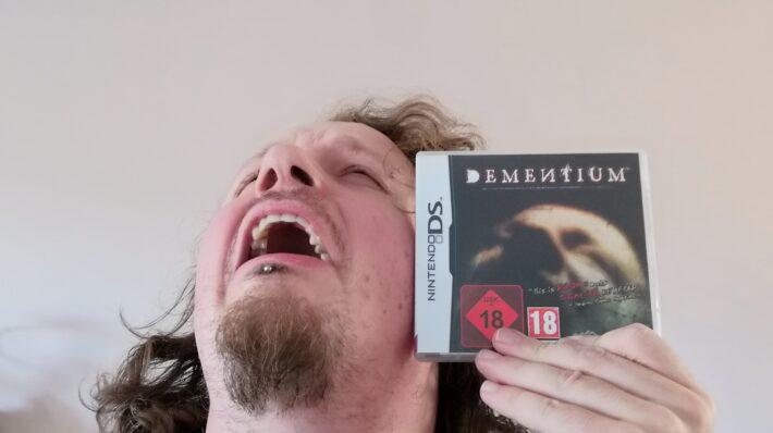 Retrogamepapa met Dementium op DS