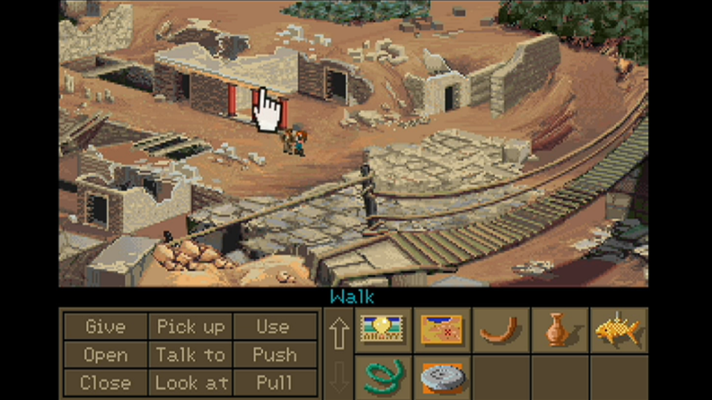 retrogamepapa relaxing game point and click adventure indiana jones